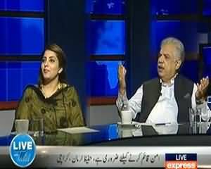 Live with Talat - 27th July 2013 (Pakistani Siyaasat Ikhlaak Aur Osool Ke Bagair...)