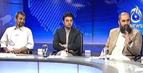 Live With Talat (By-Election Multan and Political Situation) – 16th October 2014