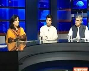 Live with Talat (By Elections Exclusive) on Express News - 22nd August 2013