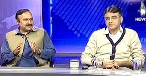 Live With Talat (Involvement of Agencies into Politics) – 10th November 2014