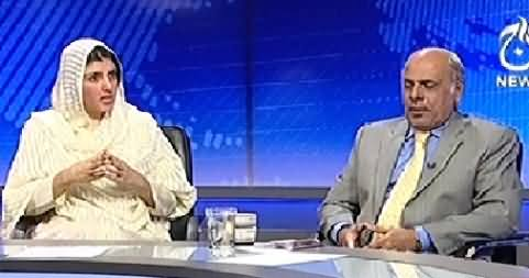 Live With Talat (Kashmir Dispute Between India & Pakistan) – 27th October 2014