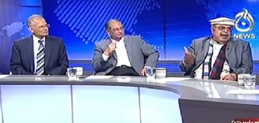 Live With Talat (Lahore Mein Tehreek e Insaf Ka Protest) - 15th December 2014