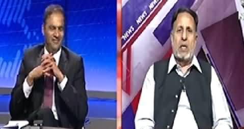 Live With Talat (Pakistan Ke Sar Se Tofan Kab Tale Ga) – 30th October 2014