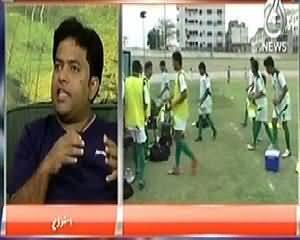 Live with Talat (Pakistan Street Child Football Team) – 13th April 2014