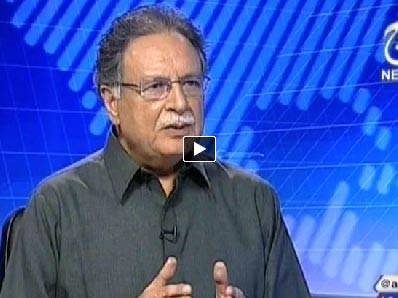 Live with Talat (Pervez Rasheed Exclusive Interview) - 28th June 2014