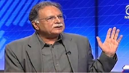Live With Talat (Pervez Rasheed Exclusive Interview) – 2nd October 2014