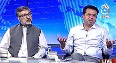 Live With Talat (Political Crises, Last Moments) – 26th August 2014