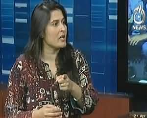 Live with Talat (Sharmeen obaid Chinoy Exclusive Interview) – 12th April 2014