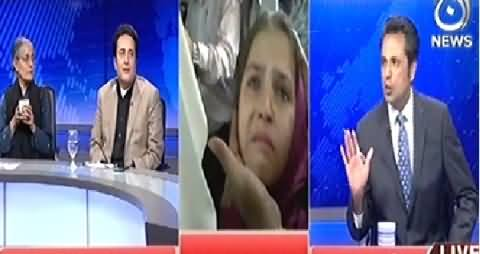 Live With Talat (State of Pakistan and Helpless People) – 3rd December 2014