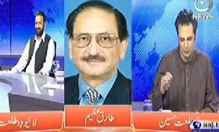 Live with Talat (Tahir ul Qadri Ki Aamad.....Kiya Hoga?) – 22nd June 2014