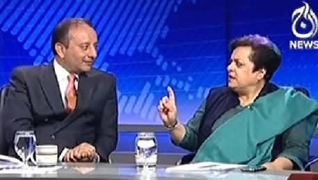 Live With Talat (What is the Next Stage of Current Agitation) – 9th December 2014