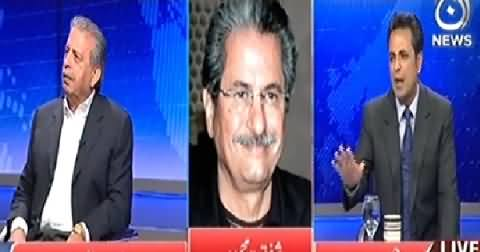 Live With Talat (Why Pervez Khattak Met Nawaz Sharif?) - 5th November 2014