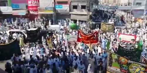 Look How Eid Milad un Nabi Day Was Observed in Rawalpindi Today?