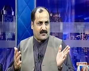 Maazrat Kay Saath - 23rd July 2013 (Kiya Wafaki Hukumaat Karachi Mein Aman Qaim Kar Pai Gi)