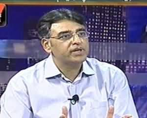 Maazrat Kay Saath - 24th July 2013 (What Really Does PTI Wants? Asad Umar)