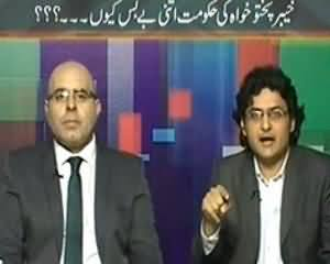 Maazrat Kay Saath (Is Imran Khan Really A Coward?) - 19th October 2013