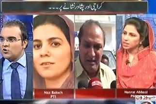 Maazrat Ke Saath - 21st June 2013 (Karachi & Peshawar Are On Target)