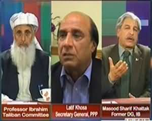 Maazrat Ke Saath (Why Govt Wants Army in Dialogue?) – 6th March 2014