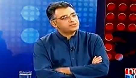 Maazrat Ke Sath (Asad Umar Exclusive Interview) - 10th October 2014