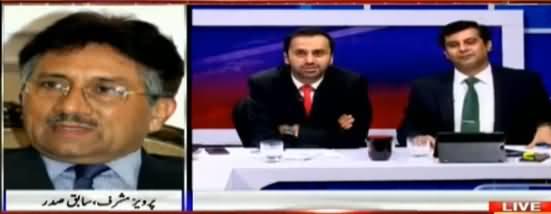 Maine Yahan Mithai Khai - Pervez Musharraf Views on PM Nawaz Sharif's Disqualification