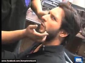 Make Up of Shahid Afirdi, Saeed Ajmal, Wahab Riaz For Eid Celebration