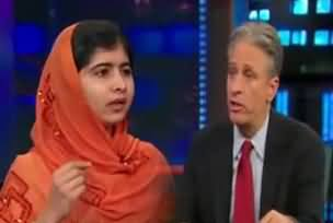 Malala Interview with Jon Stewart was Planted - Reality of Malala Planted Interview Exposed