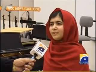 Malala Yousafzai Interview - 12th October 2013