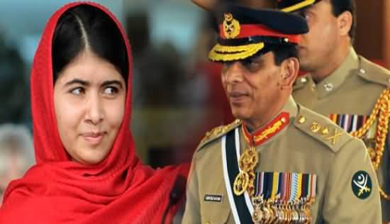 Malala Yousafzai Maligns Pak Army in her book and Says Pak Army is Incompetent