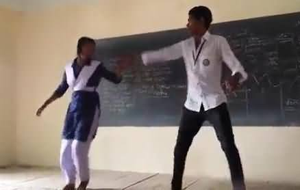 Male & Female Student Dance in School During Class, Should It Be Allowed