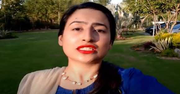 Maleeha Hashmi Destroys Maryam Safdar's Team's False Propaganda Against PTI Govt