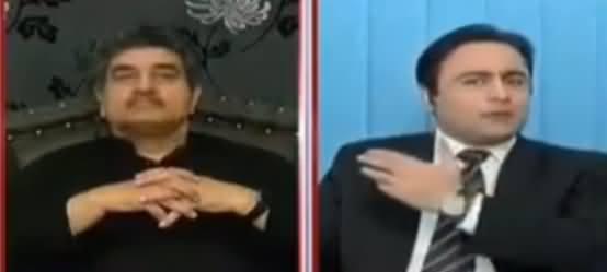 Mansoor Ali Khan Made Iftikhar Ahmad Speechless on Defending Sharif Family
