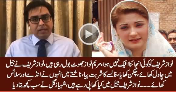 Maryam Nawaz Lying, Nawaz Sharif Didn't Suffer Angina Attack - Dr. Shahbaz Gill Telling Details
