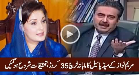 Maryam Nawaz Media Cell Spending 35 Crores Per Month, Investigations Started