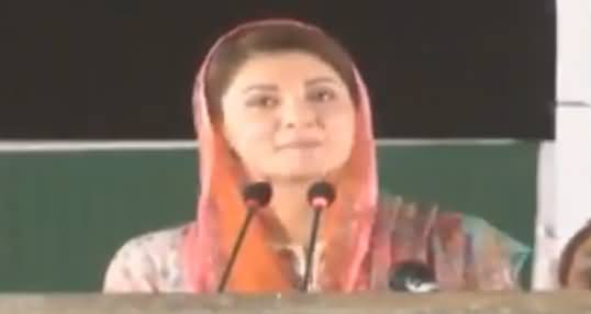 Maryam Nawaz's Complete Speech in Sadiqabad Jalsa - 2nd May 2018