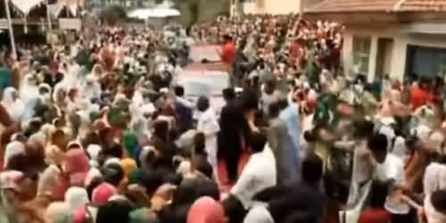 Maryam Nawaz Warmly Welcomed In Hawaily Azad Kashmir