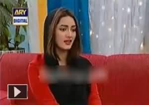 Mathira Talking Boldly About Her Vulgur Ad -