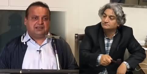 Matiullah Jan And Ammar Masood Criticizing Govt & Judiciary Through Funny Videos