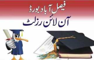 Matriculation Annaul Result 2013 Faisalabad Board - Check Your Result