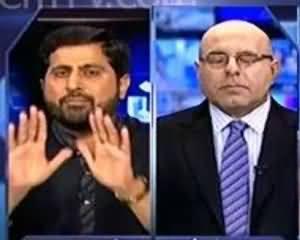 Maulan Fazal ur Rehman Representative Left the Show on Tough Questions by PTI Faizul Hassan