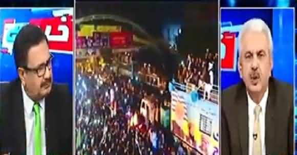 'Maulana Asy Gaye Hain Jese Bura Mausam Jata Hai' - Arif Hameed Bhatti Comments Over Azadi March