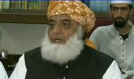 Maulana Fazal-ur-Rehman Once Again Speaks Against Women Protection Bill