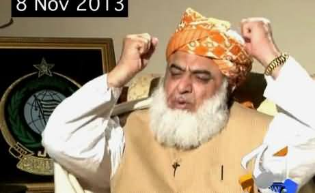 Maulana Fazal ur Rehman Talking with Saleem Safi About his statement on declaring a dog shaheed