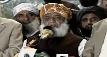 Maulana Fazlur Rehman Speech Today in Peshawar Azadi March - 15th November 2019