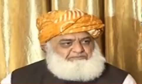 Maulana Fazul ur Rehman decides not to contest elections from NA 35