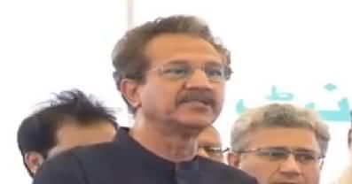 Mayor Karachi Waseem Akhtar Is Praising PM Imran Khan