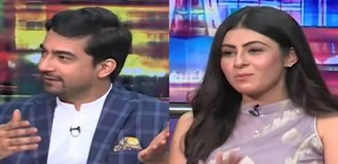 Mazaaq Raat (Actor Ali Safina And Actress Urooj Chaudhery) - 19th July 2021