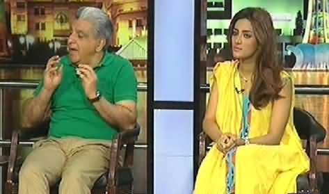 Mazaaq Raat (Actress Mathira and Yousaf Salahuddin) – 7th April 2014