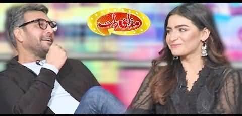 Mazaaq Raat (Adnan Siddiqui & Momina Tariq Awan) - 10th February 2021
