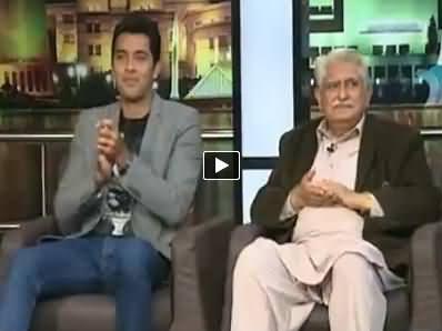 Mazaaq Raat (Aisam ul Haq and Haji Adeel of ANP) - 24th November 2014