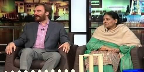 Mazaaq Raat (Ansar Barni) on Dunya News – 11th March 2015